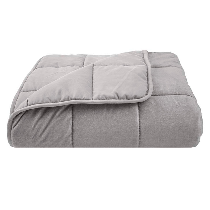 Bambury Weighted Blanket 6.8kg Single Bed   My Linen