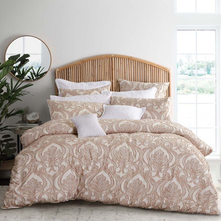 Private Collection Amari Linen Queen Bed Quilt Cover Set | My Linen