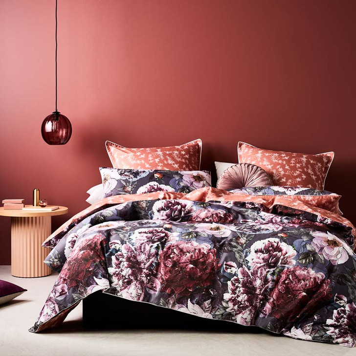 Logan and Mason Briar Rose Queen Bed Quilt Cover Set | My Linen