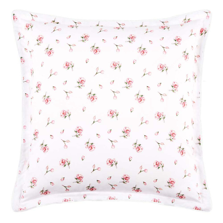 Logan and Mason Gracie Sage European Pillowcase   My Linen
