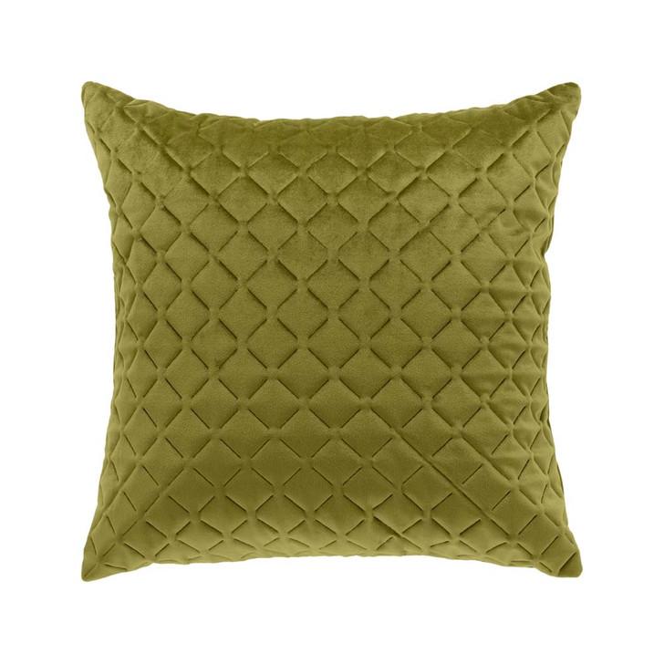 Bianca Alden Olive Square Filled Cushion   My Linen