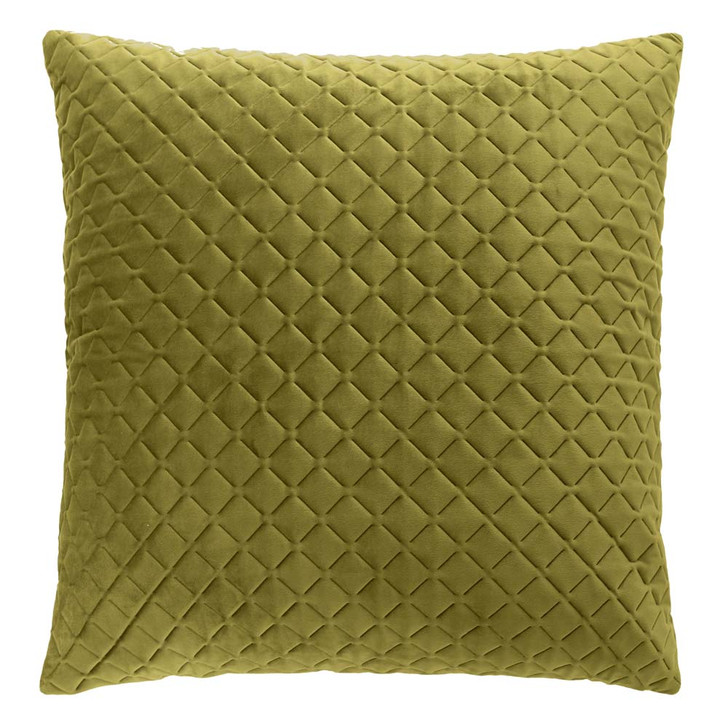 Bianca Alden Olive European Pillowcase   My Linen