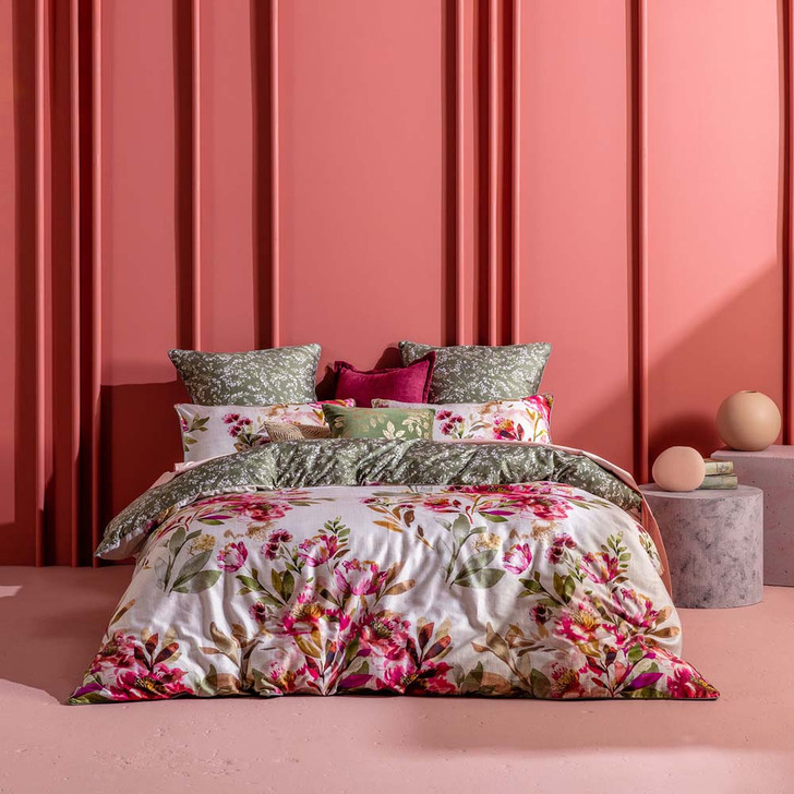 KAS Taneya Multi Double Bed Quilt Cover Set   My Linen
