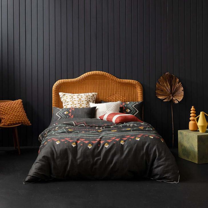 KAS Zephyr Multi Queen Bed Quilt Cover Set   My Linen