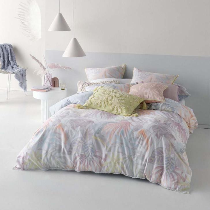 Linen House Utopia Sky Double Bed Quilt Cover Set   My Linen