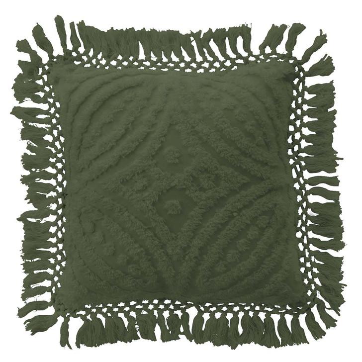 Bianca Savannah Olive European Pillowcase   My Linen
