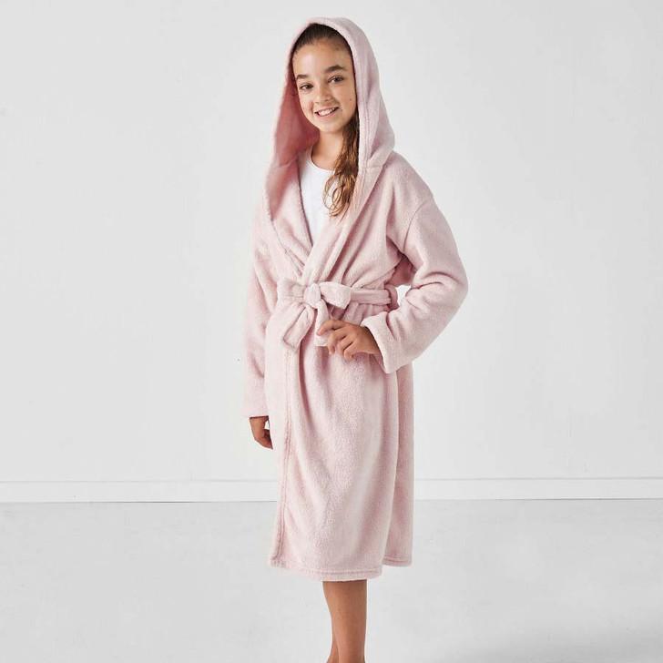 Hiccups Plush Kids Bathrobe Blush Kids Small Size 4   My Linen