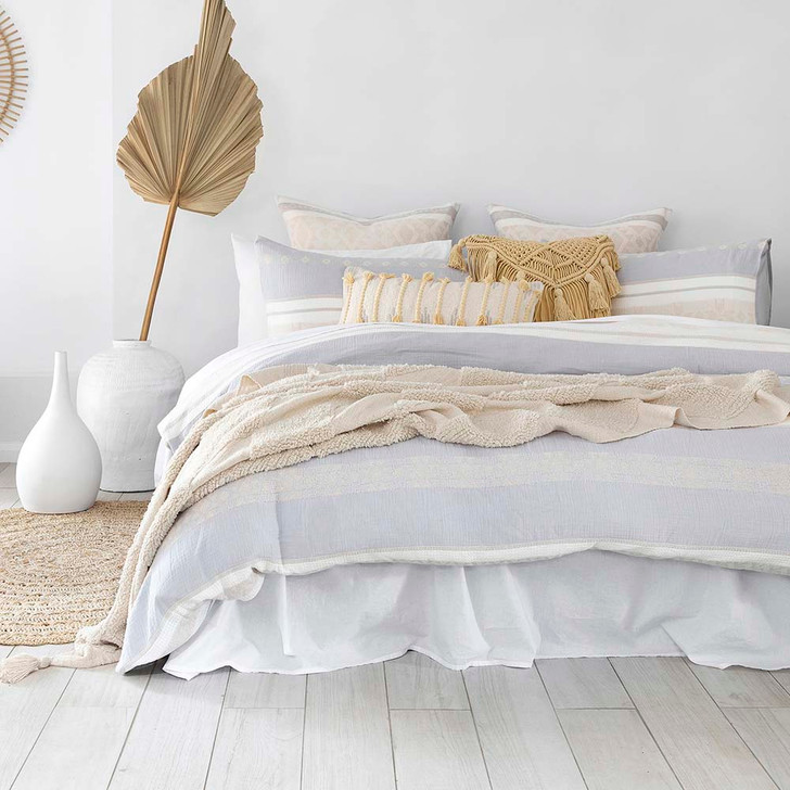 Bambury Silow Double Bed Quilt Cover Set   My Linen