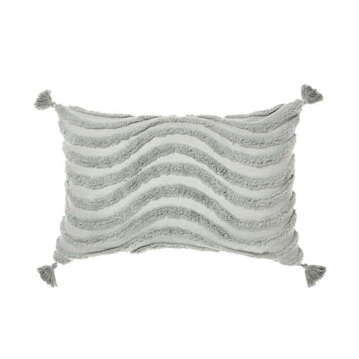 Linen House Amadora Smoke Long Filled Cushion   My Linen