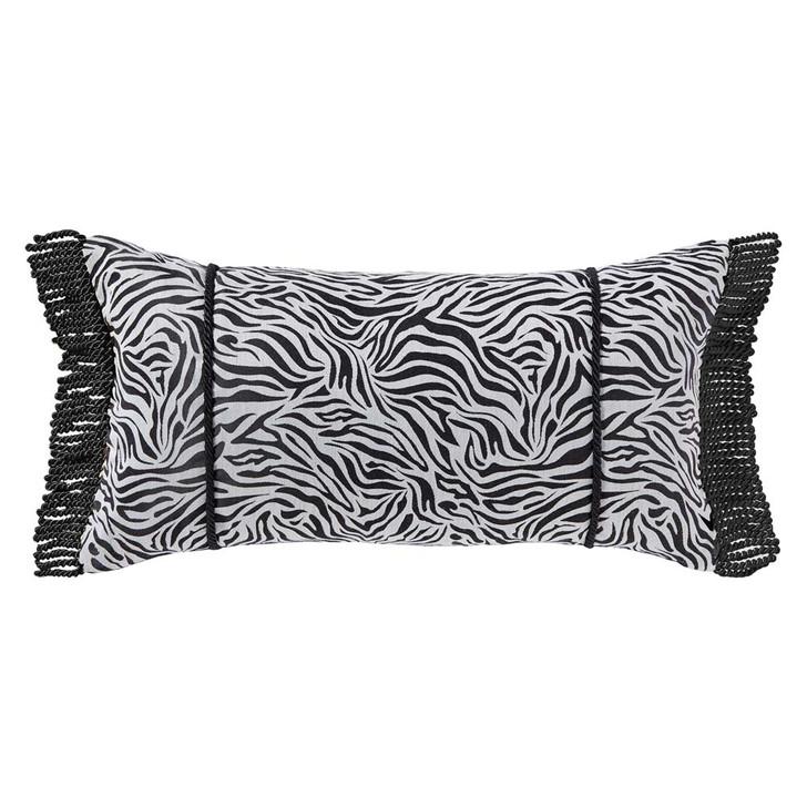 Davinci Piazza Gold Long Filled Cushion | My Linen