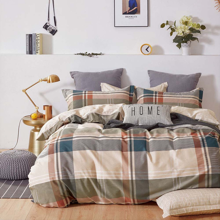 Ardor Sturt Multi Single Bed Quilt Cover Set   My Linen