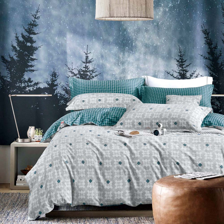 Ardor Harrison Multi King Bed Quilt Cover Set | My Linen