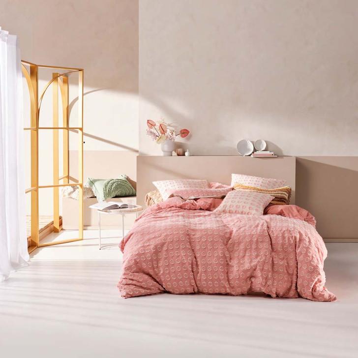 Linen House Benedita Blossom Queen Bed Quilt Cover Set | My Linen