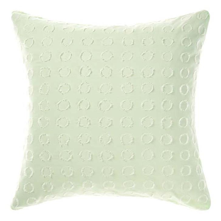 Linen House Benedita Mint European Pillowcase | My Linen