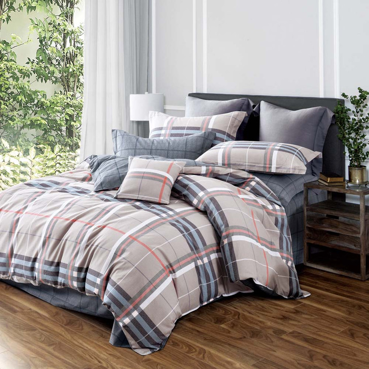 Ardor Belgrave Multi Queen Bed Quilt Cover Set | My Linen