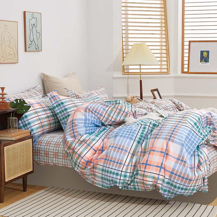 Ardor Brimbank Multi King Bed Quilt Cover Set | My Linen