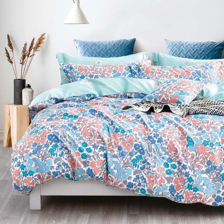 Ardor Isabelle Multi Queen Bed Quilt Cover Set   My Linen