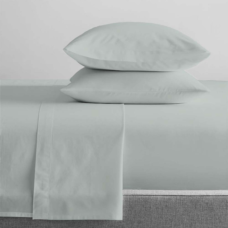 Renee Taylor Organic Sage Sheet Set Single Bed   My Linen