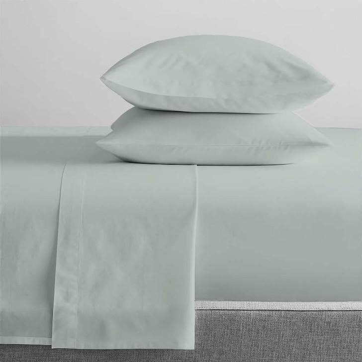 Renee Taylor Organic Sage Sheet Set Queen 50cm Bed | My Linen