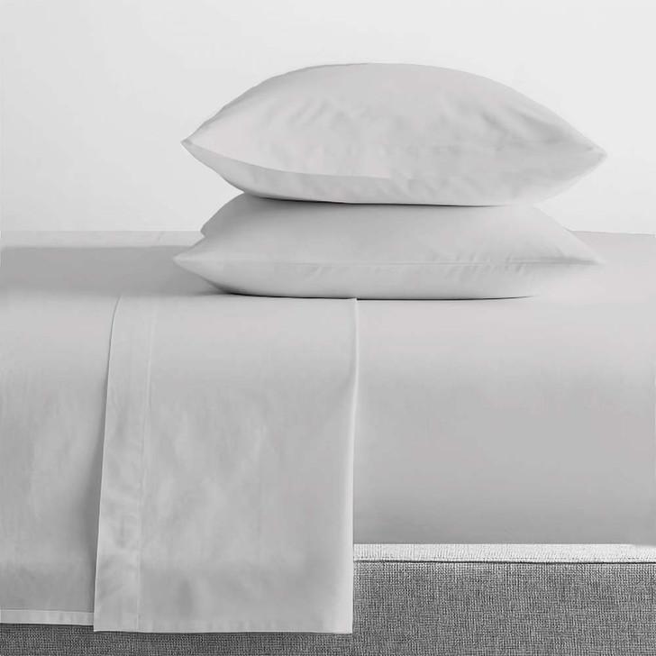 Renee Taylor Organic Vapour Sheet Set King 50cm Bed | My Linen