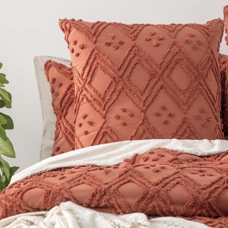 Park Avenue Medallion Auburn European Pillowcase | My Linen
