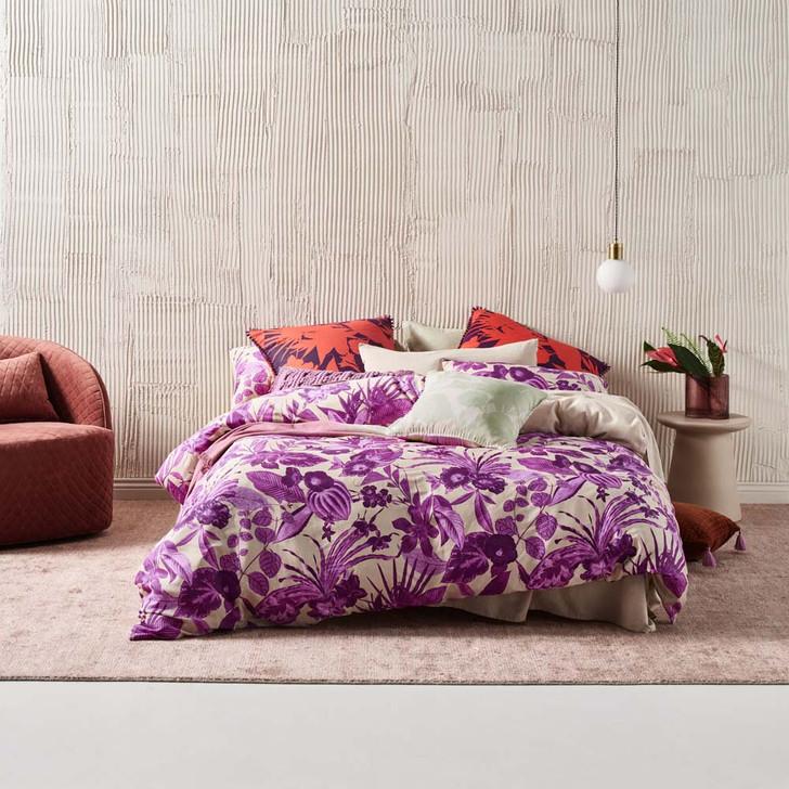 Linen House Nirvana Amethyst King Bed Quilt Cover Set | My Linen