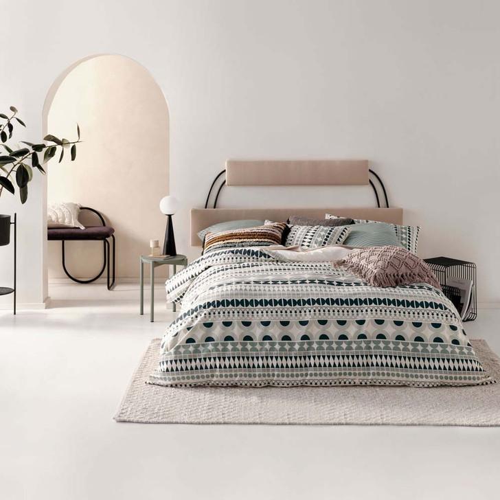 Linen House Penina Blue King Bed Quilt Cover Set | My Linen