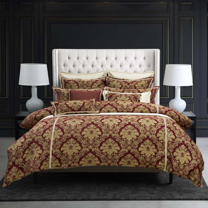 Davinci Napoleon Shiraz King Bed Quilt Cover Set | My Linen