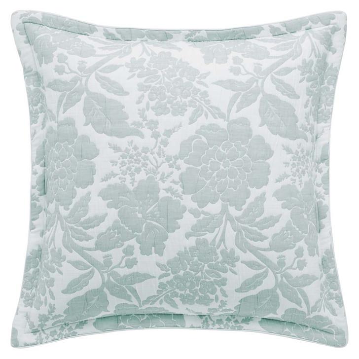 Private Collection Bethany Duck Egg European Pillowcase | My Linen