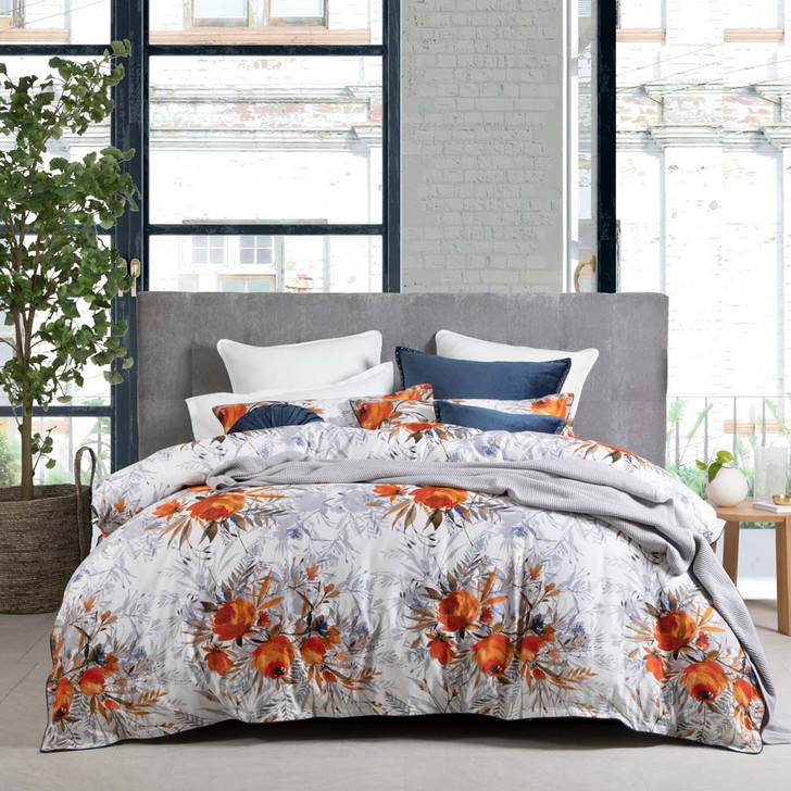 Private Collection Adelaide Sunset Queen Bed Quilt Cover Set   My Linen