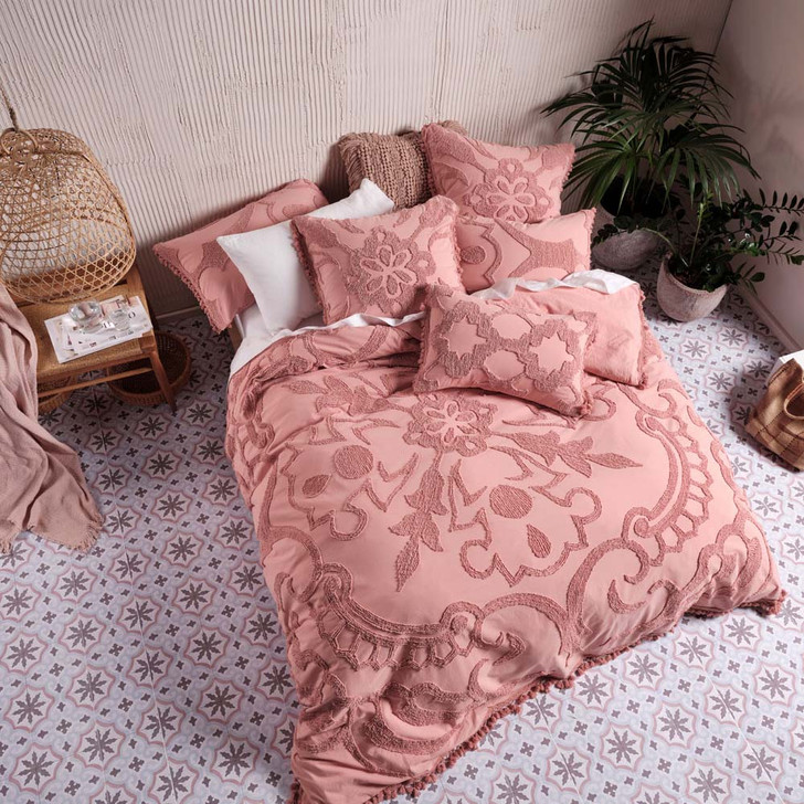 Linen House Rapallo Blossom Double Bed Quilt Cover Set | My Linen