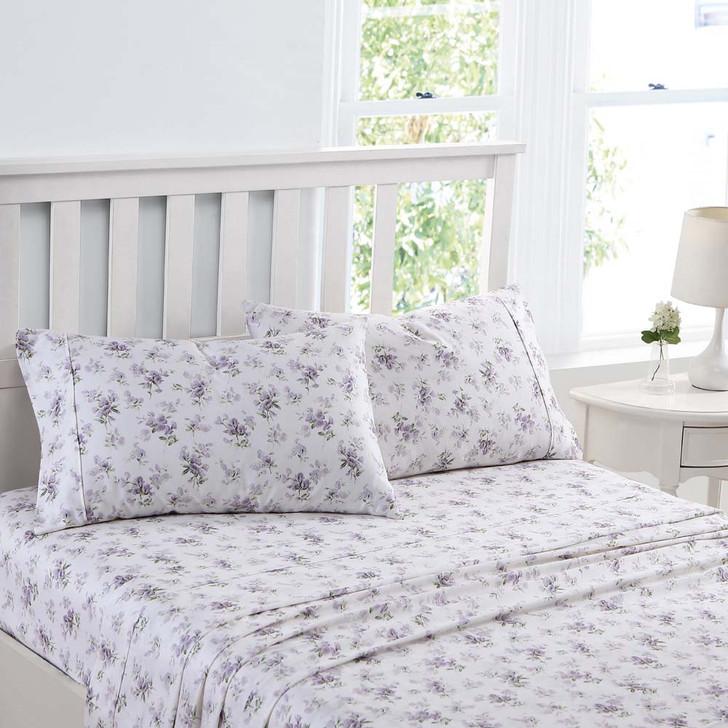 Laura Ashley Little Darlings Heather Sheet Set Single Bed | My Linen
