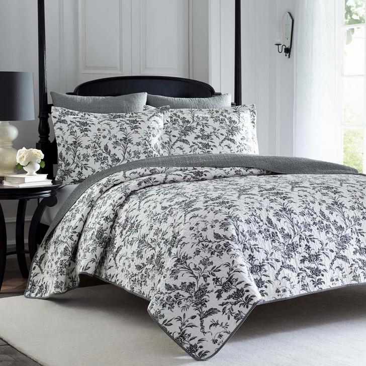 Laura Ashley Amberley Coverlet Queen / King Bed | My Linen