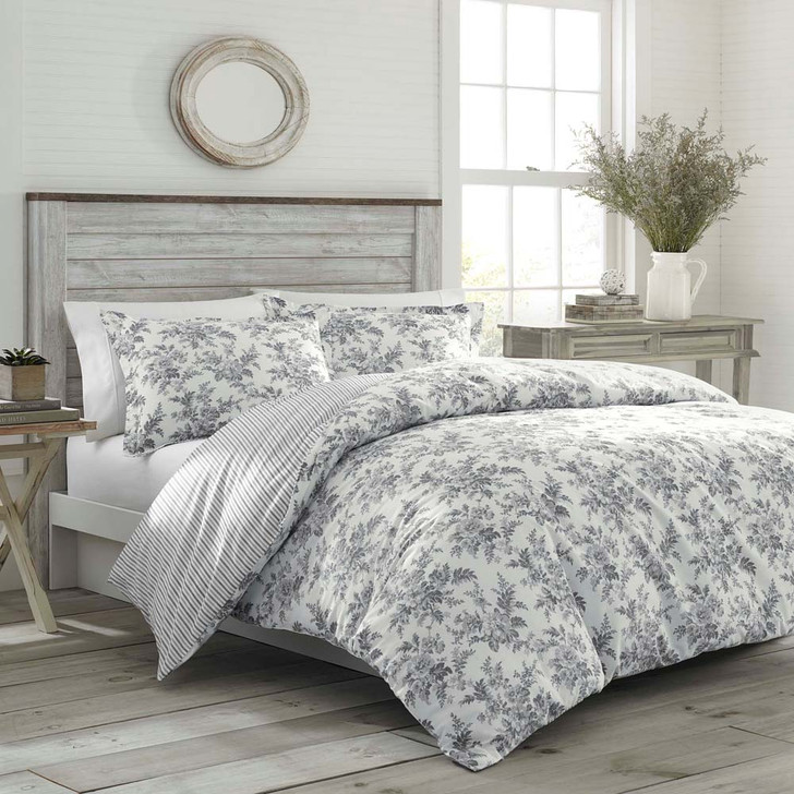 Laura Ashley Annalise Double Bed Quilt Cover Set   My Linen