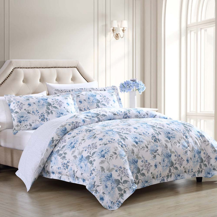 Laura Ashley Chloe King Bed Quilt Cover Set | My Linen