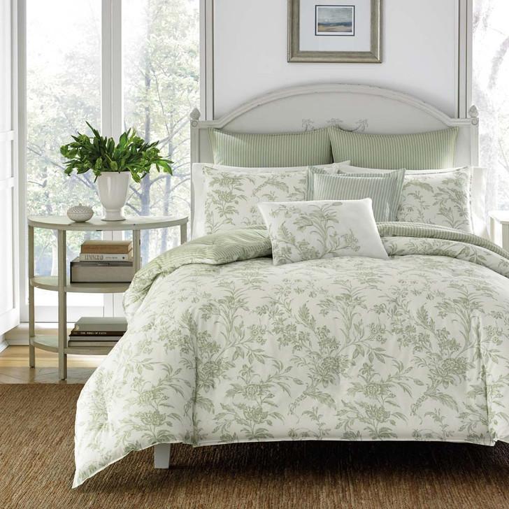 Laura Ashley Natalie Double Bed Quilt Cover Set | My Linen