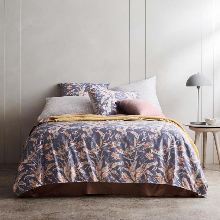 Sheridan Lissoni Ink Super King Quilt Cover Set | My Linen