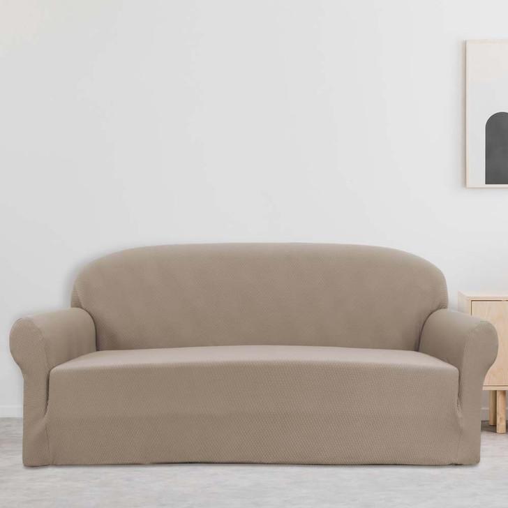 Sure Fit Boston 3 Seater Sofa Cover Linen   My Linen