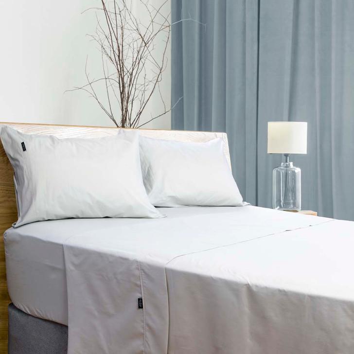 Ardor Antibacterial White 700TC Queen Bed Sheet Set | My Linen