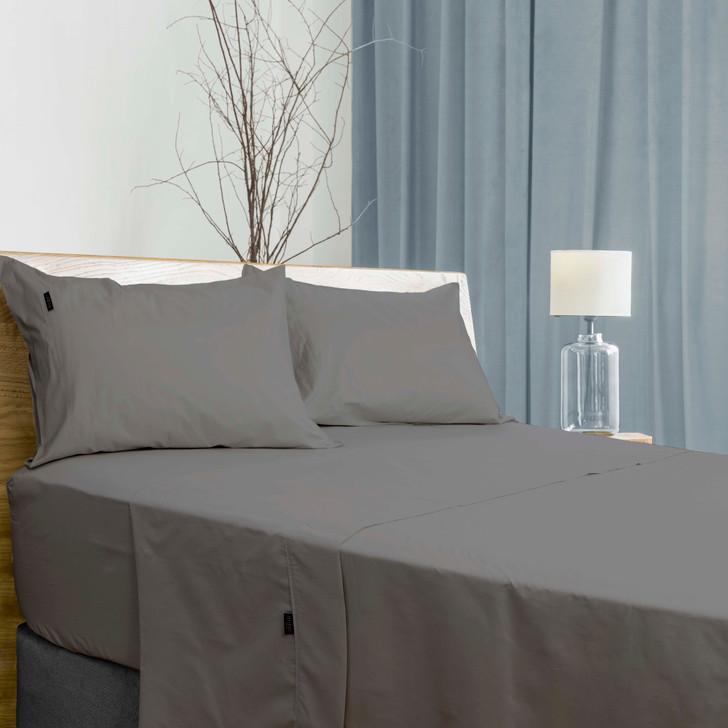 Ardor Antibacterial Charcoal 700TC Queen Bed Sheet Set   My Linen