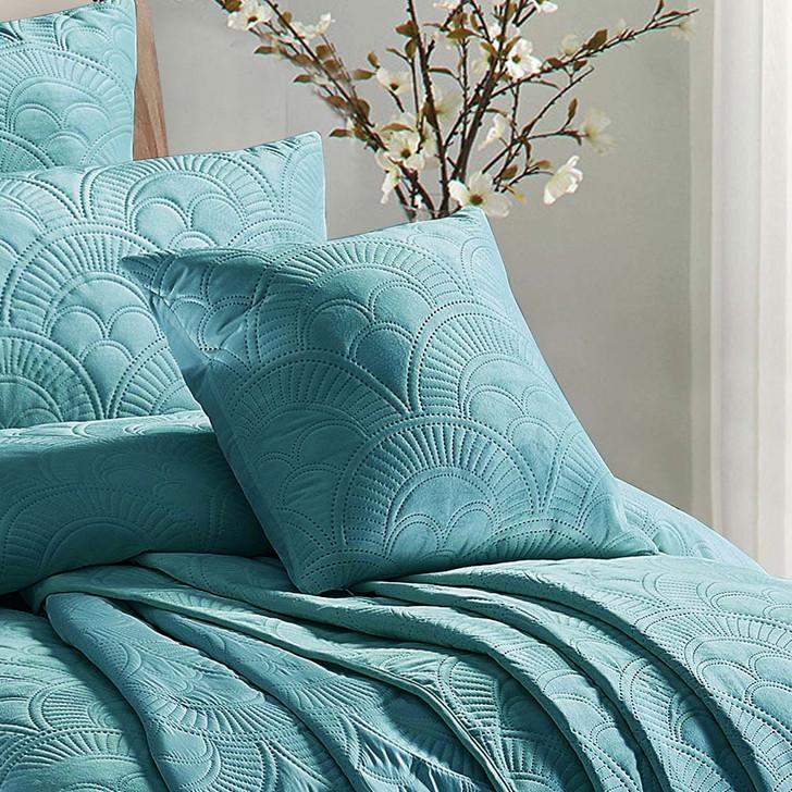 Concierge Mystique Ocean Square Filled Cushion   My Linen