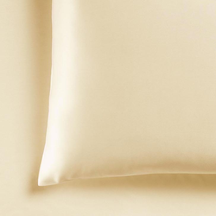 Ramesses Casablanca Silky Satin Champagne Standard Pillowcases | My Linen