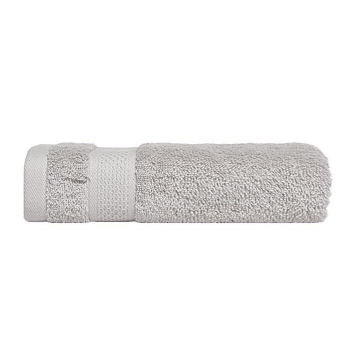 Mildtouch 100% Combed Cotton Bath Towel Silver | My Linen