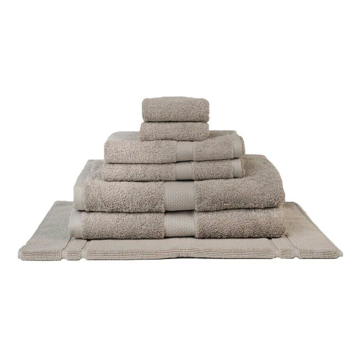 Mildtouch 100% Combed Cotton 7pc Bath Towel Set Linen   My Linen
