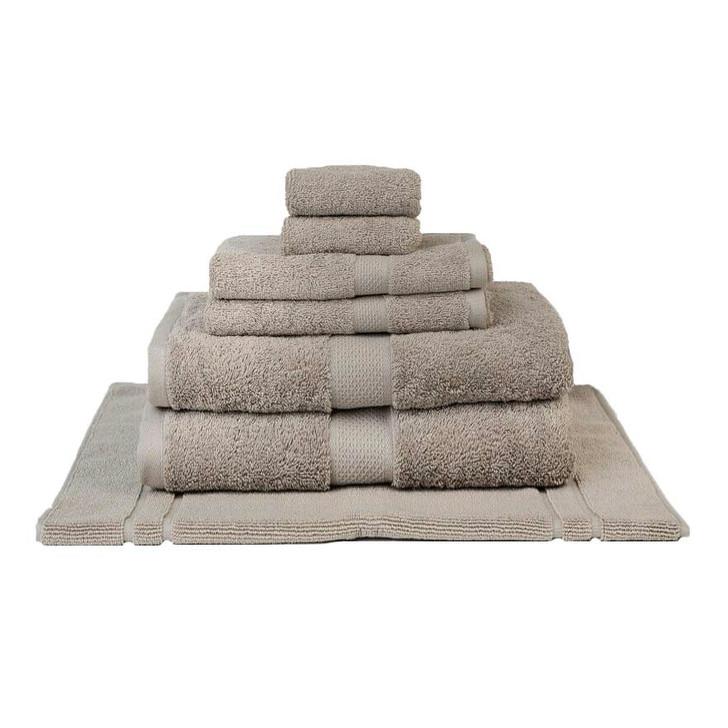 Mildtouch 100% Combed Cotton 7pc Bath Sheet Set Linen | My Linen