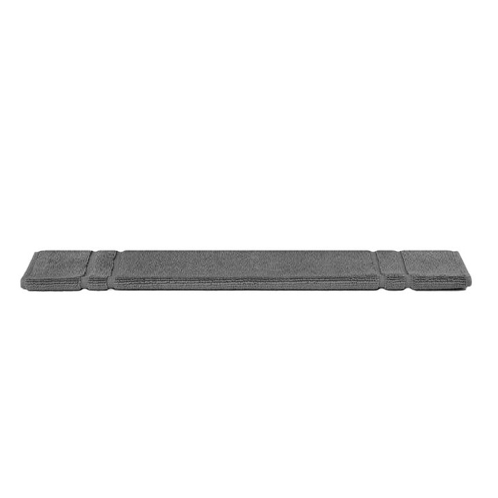 Mildtouch 100% Combed Cotton Bath Mat Charcoal | My Linen