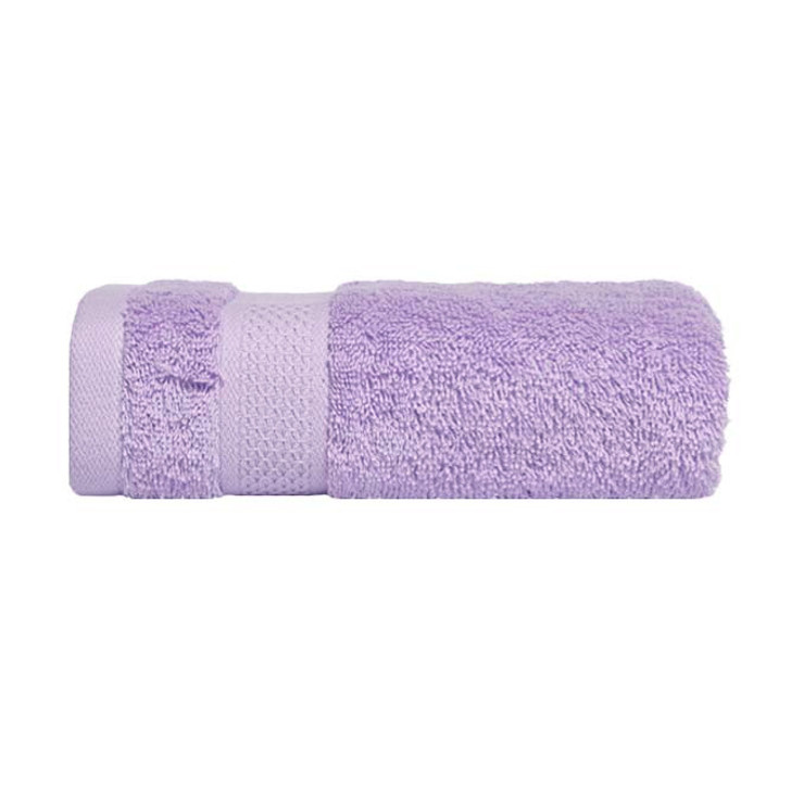 Mildtouch 100% Combed Cotton Bath Sheet Lilac   My Linen