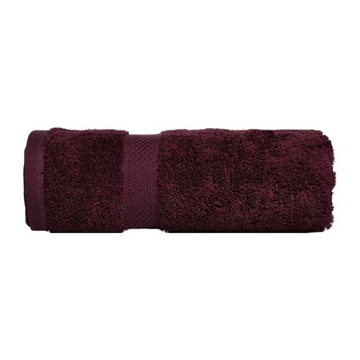 Mildtouch 100% Combed Cotton Bath Sheet Burgundy | My Linen