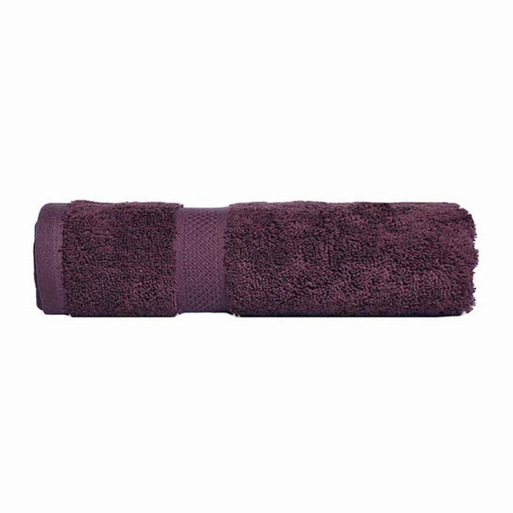 Mildtouch 100% Combed Cotton Bath Towel Aubergine | My Linen