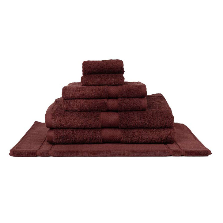 Mildtouch 100% Combed Cotton 7pc Bath Towel Set Shiraz | My Linen